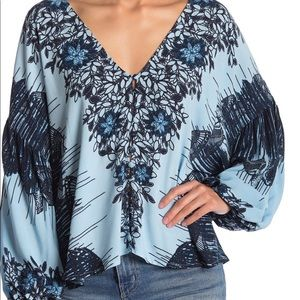 Birds of a feather Free People top!!!